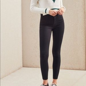Pacsun super high rise jegging Whilshire black